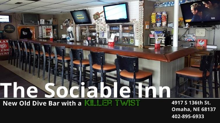 Sociable Inn new old dive bar in Millard Ne